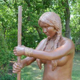 L'Iroquoienne et les trois soeurs